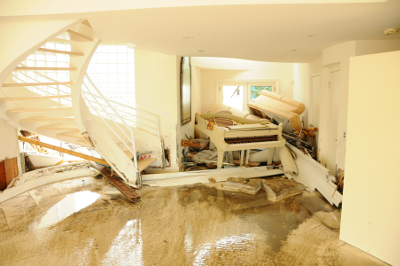 Water Damage Restoration - Livonia - MJM Property Restoration - flood1