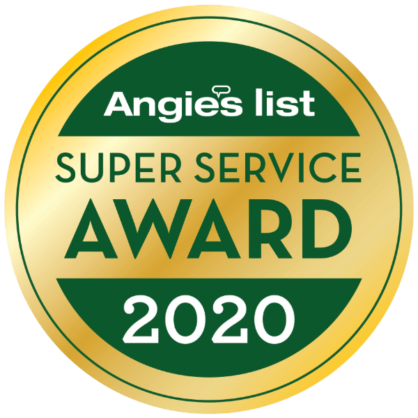 Angie's List Super Service Award 2020 logo