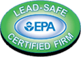 Environmental Protection Agency Lead-Safe Certified Firm logo